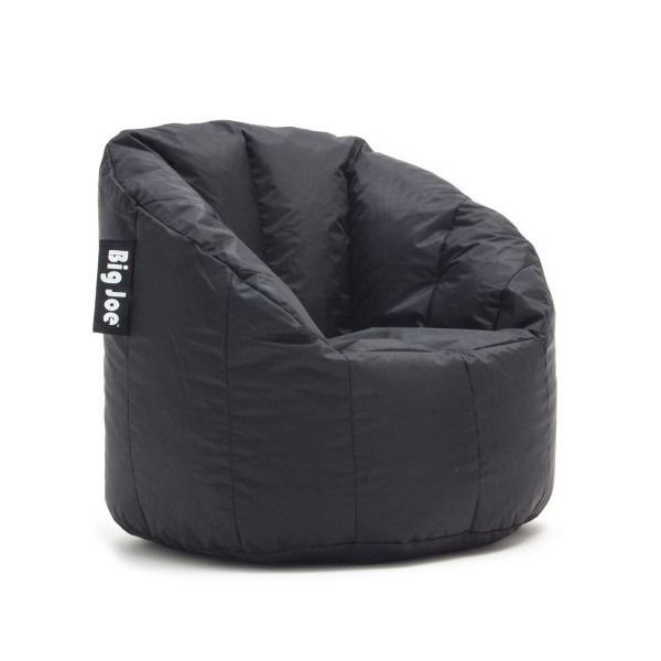Big Joe Milano Bean Bag Chair, Black