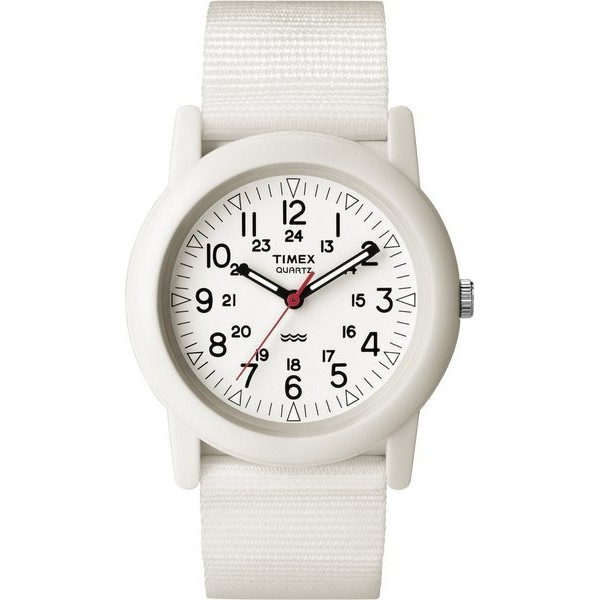 Timex Outdoor Camper Fabric Strap White Dial Unisex Watch