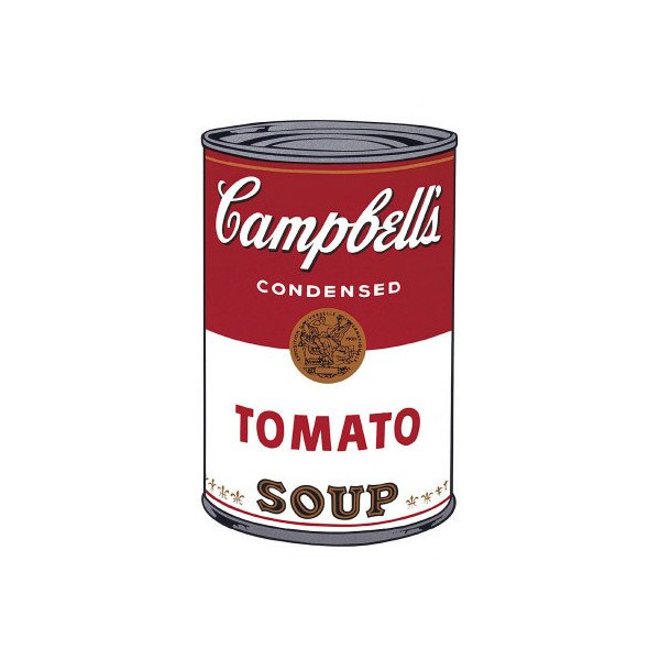 Campbell's Soup I: Tomato, c.1968 Art Poster Print by Andy Warhol, 13x19