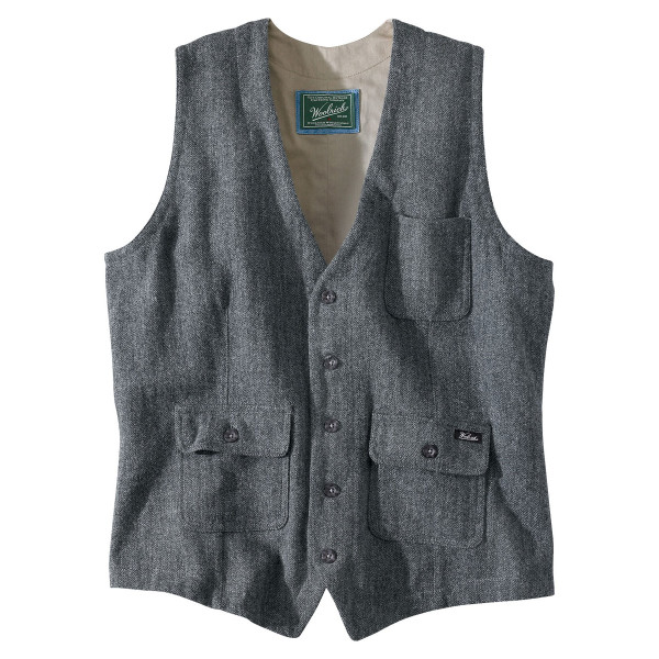 Woolrich Men's Ruxton Washable Wool Vest, Slate