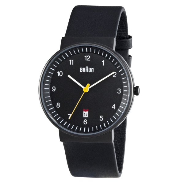 Braun Mens All Black Watch