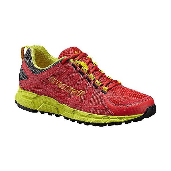 Montrail Bajada II Shoe - Women's Red Hibiscus / Chartreuse 7