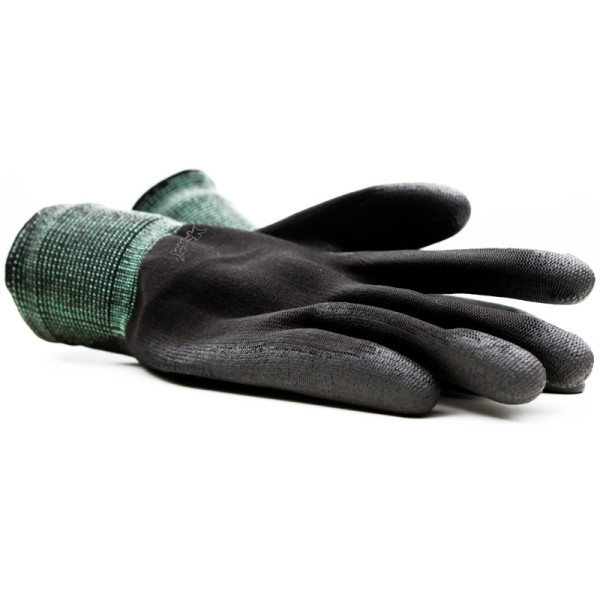 Montana Black Nylon Gloves