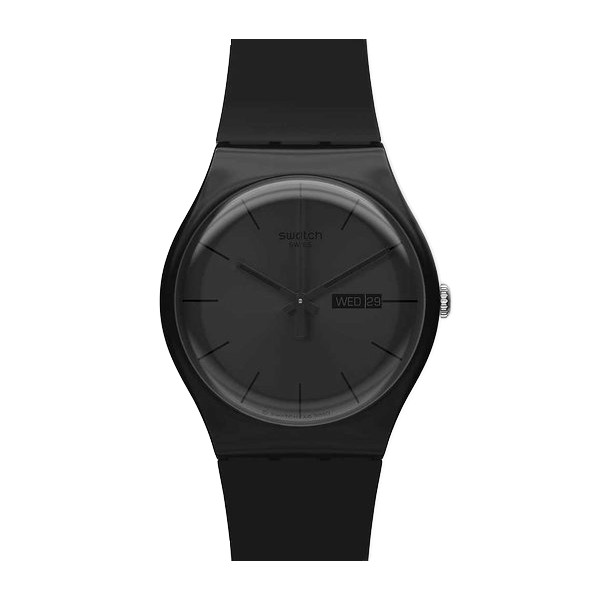 Swatch Black Rebel Mens Watch