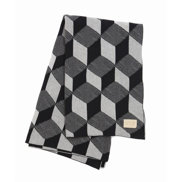 Squares Knit Kids Throw Blanket, by Ferm Living