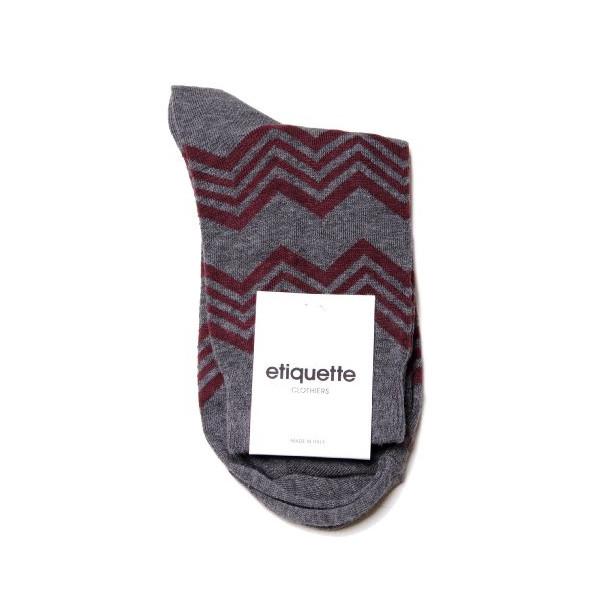 Etiquette Clothiers - Aspen Stripe Socks