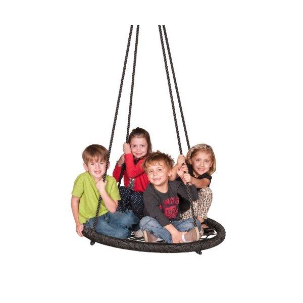 Web Riderz Children's Web Swing, Black
