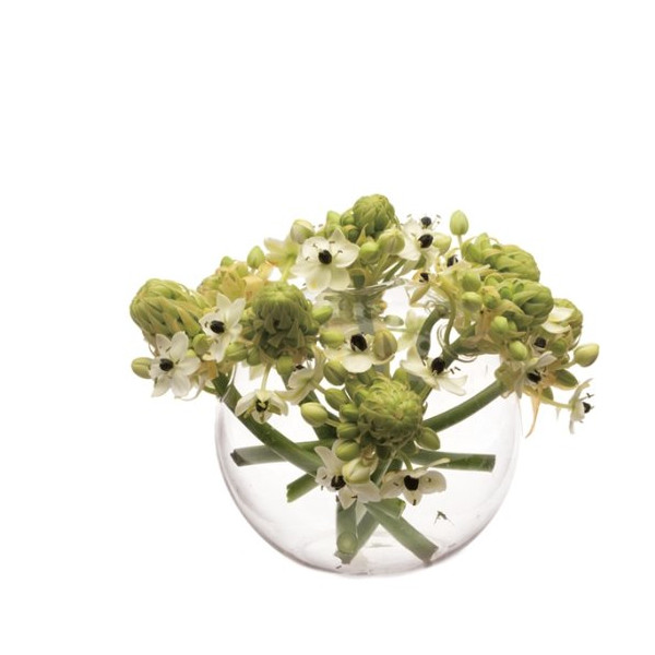 Chive, Hudson 3, Medium Sphere  Vase