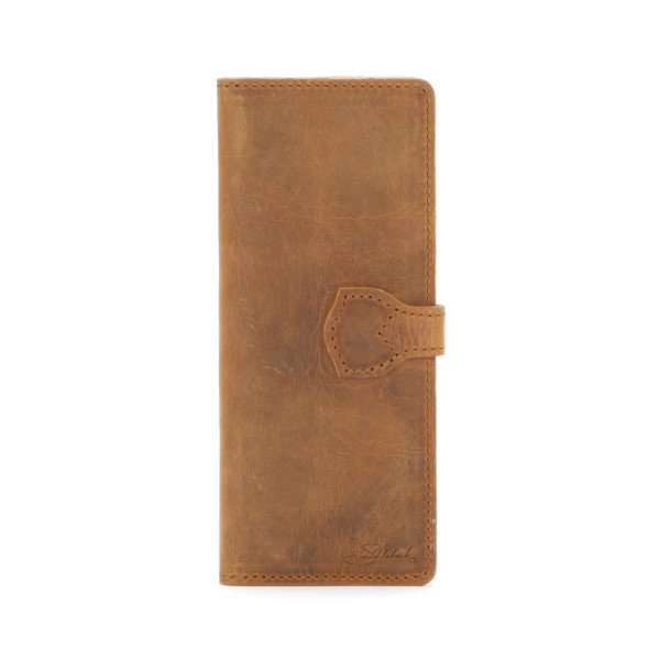 Saddleback Leather Slim Wallet, Tobacco