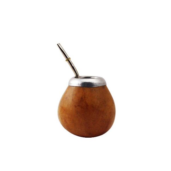 Mategreen M0035 Argentina Yerba Mate Gourd Cup with Straw