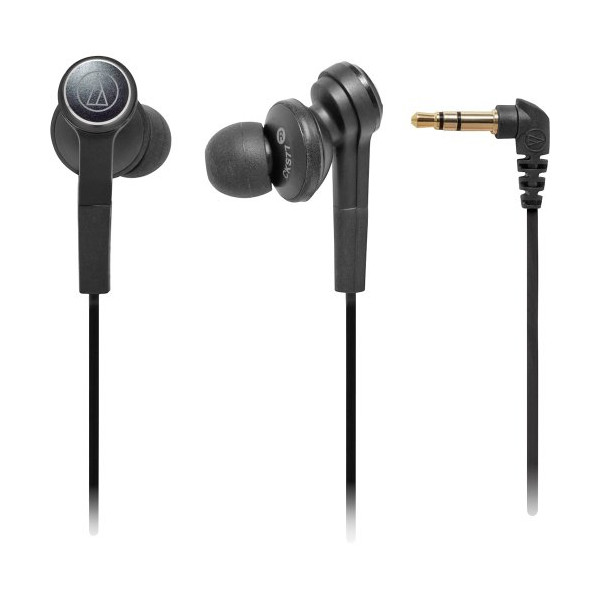 Audio-Technica ATH-CKS77 In-Ear Headphone-Black