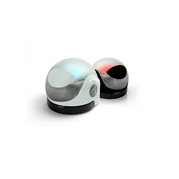 Ozobot 1.0 - Two Pack (Crystal White & Titanium Black)