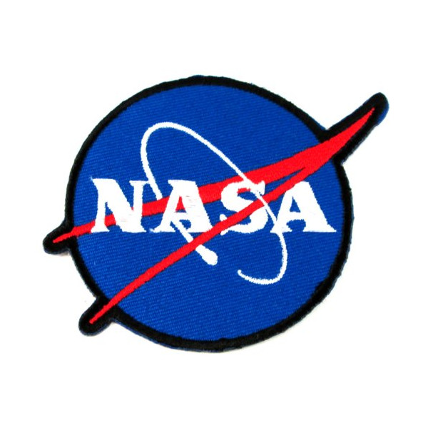 NASA Logos Iron on Patches