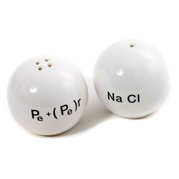 Propaganda Chemical Salt and Pepper Shakers Set