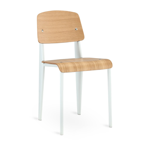 Cabin Dining Side Chair in Natural White