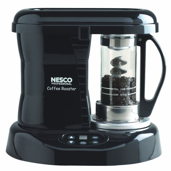 Nesco CR-1010-PRP Professional Coffee Bean Roaster, 800-Watt