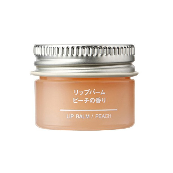 Muji Japan Lip Balm, Peach