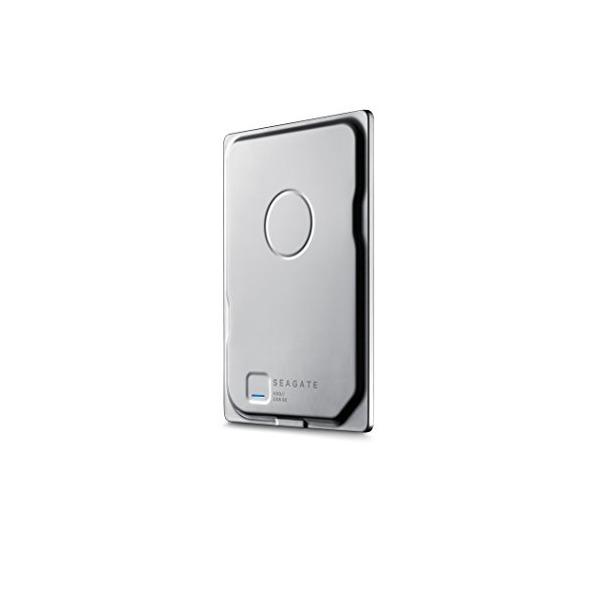 Seagate Seven 750GB Portable External Hard Drive, Silver (STDZ750100)