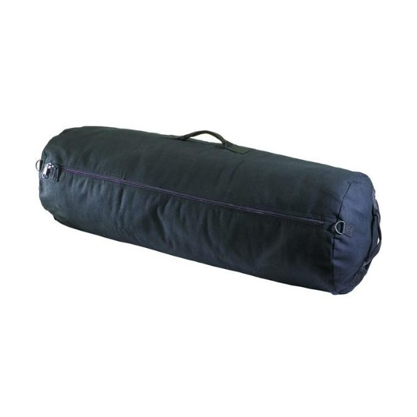 Texsport Zippered Canvas Duffel Bag (50 x 30-Inch, Black)