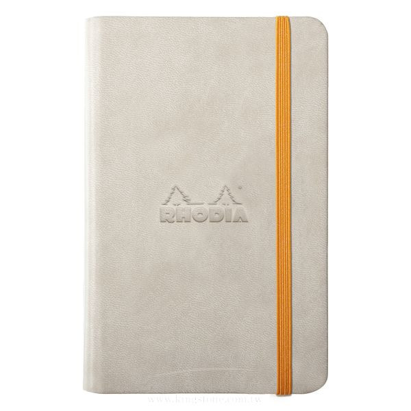 Rhodia A6 Lined Notebook, Beige
