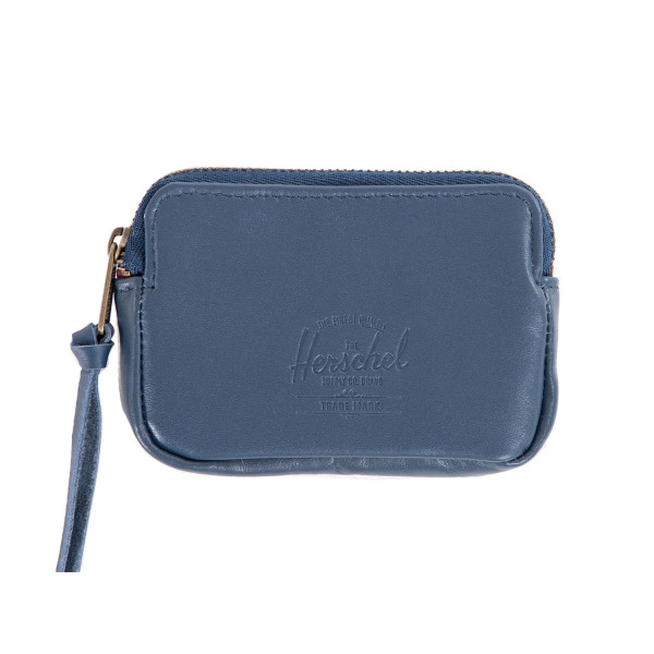 Herschel Supply Co. Oxford Wallet, Navy Leather