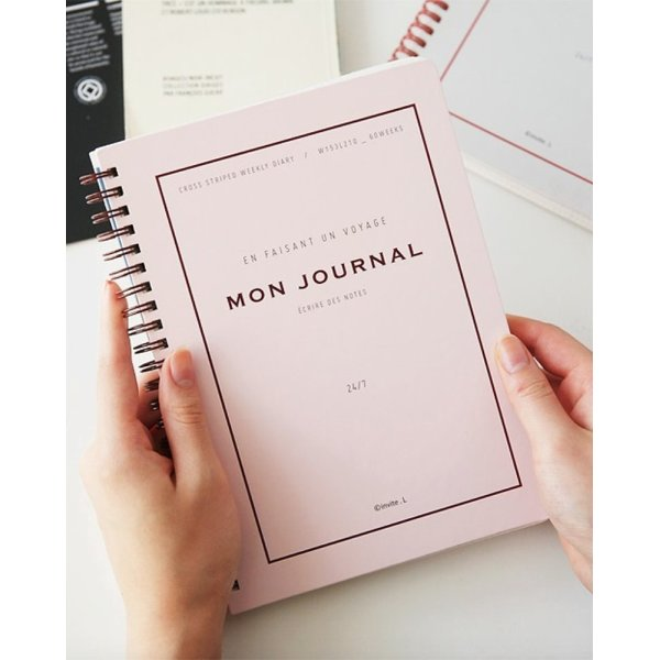 invite.L Mon Journal 2nd Edition - Pink