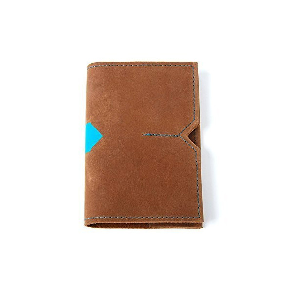 Bravo Leather Notebook Wallet