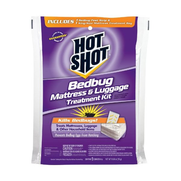 Hot Shot Bedbug Mattress Treatment Kit