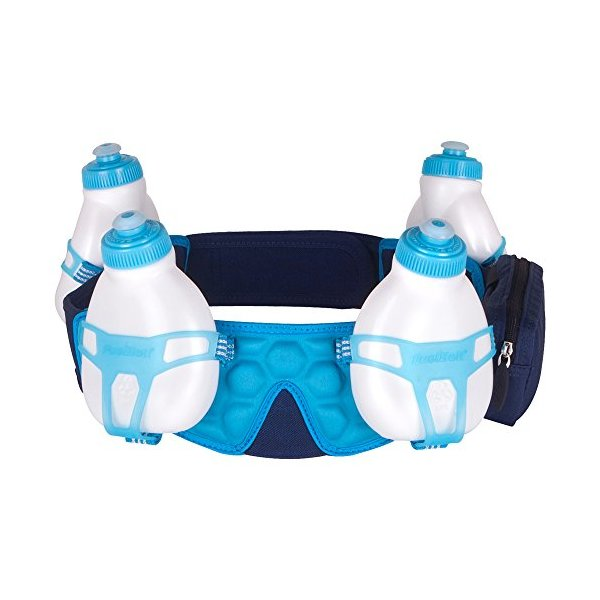 FuelBelt Helium 4 Bottle Belt, Medium