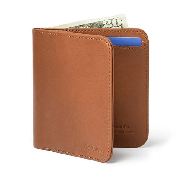 Distil Union Wally Agent Leather Bifold Wallet Billfold