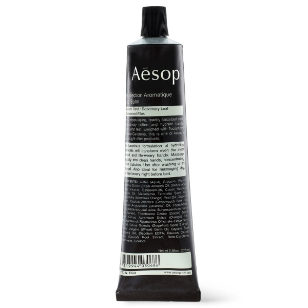 Aesop Resurrection Aromatique Hand Balm, 120ml/4oz