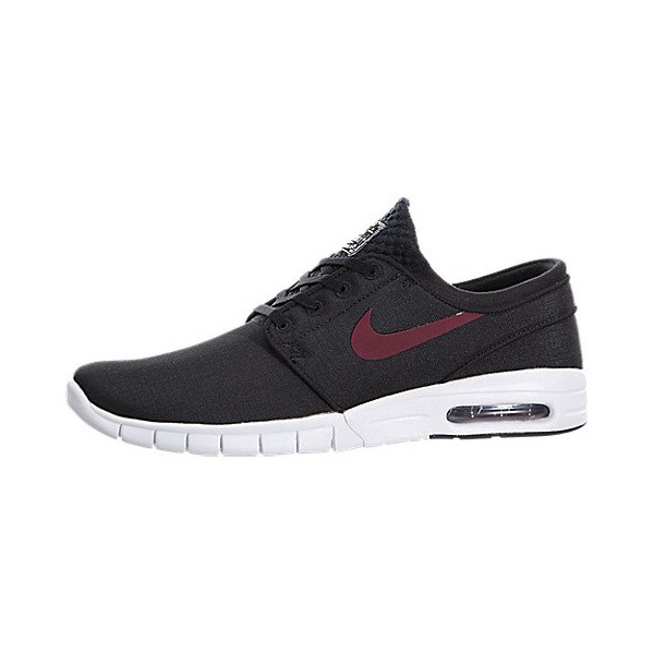Nike Men's Stefan Janoski Max Black/Team Red/White Skate Shoe 8.5 Men US