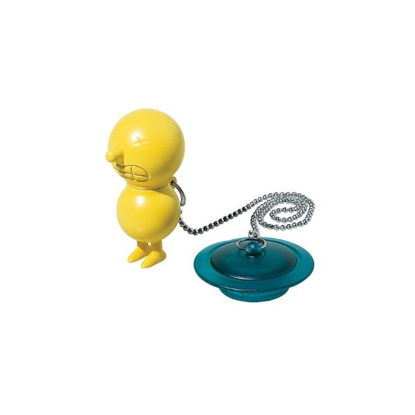 Alessi Mr. Suicide Bathtub Plug Yellow