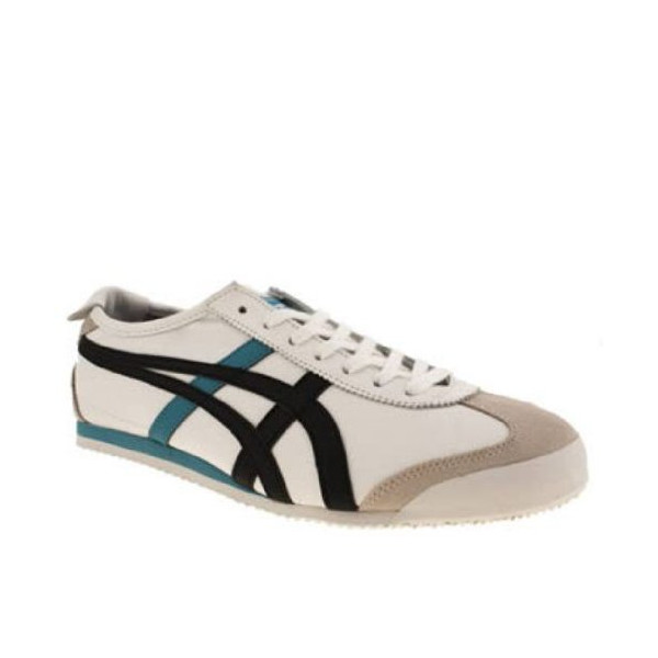 Onitsuka Tiger Mexico 66 White Black Blue New Mens Trainers Shoes Boots-10