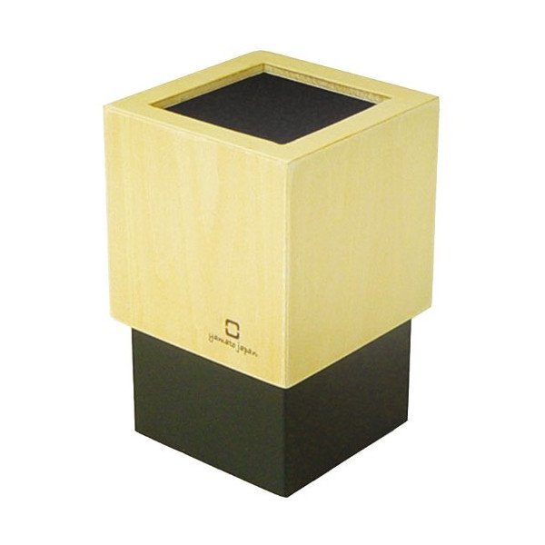 CUBE MINI Pencil Holder Black YK08-110-Bk (japan import)