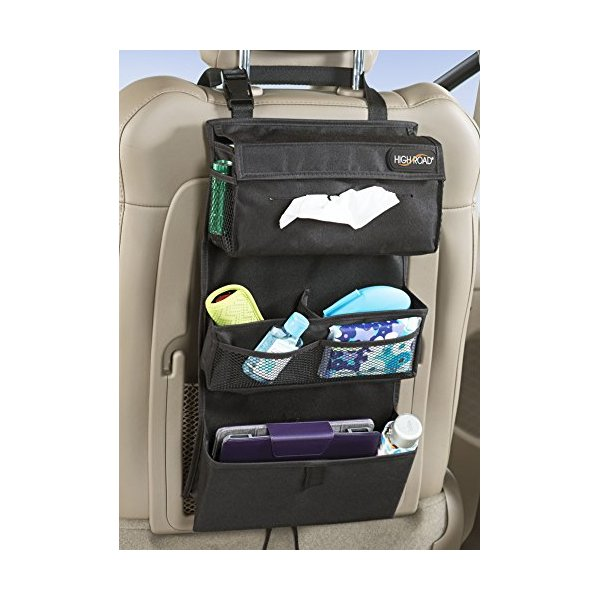 High Road Car Seat Back Entertainment Organizer
