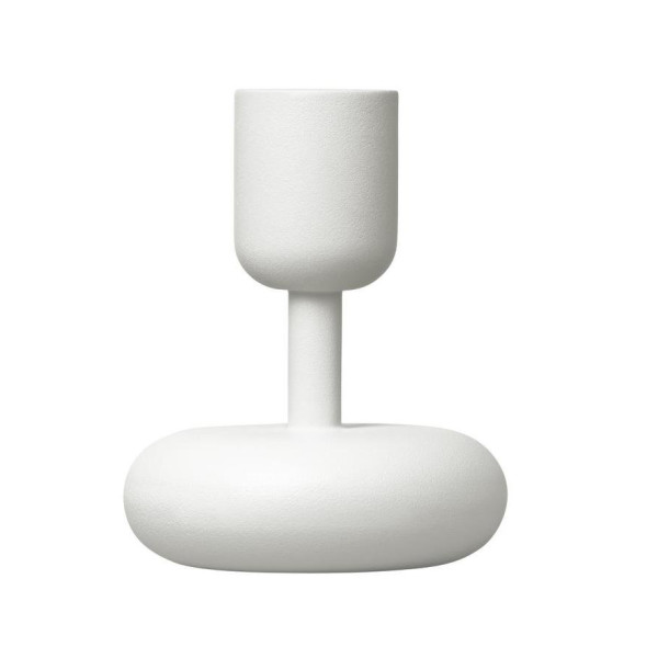 littala Nappula Candleholder, White, Small (Set of 2)