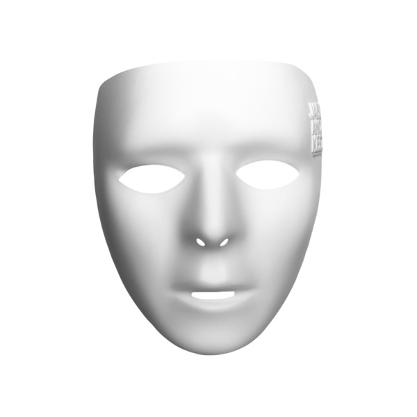 Jabbawockeez Mysterious Cosplay Mask, White