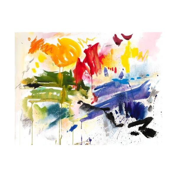 16x20 in. Hana Joo Composition 7 (Scribbles)