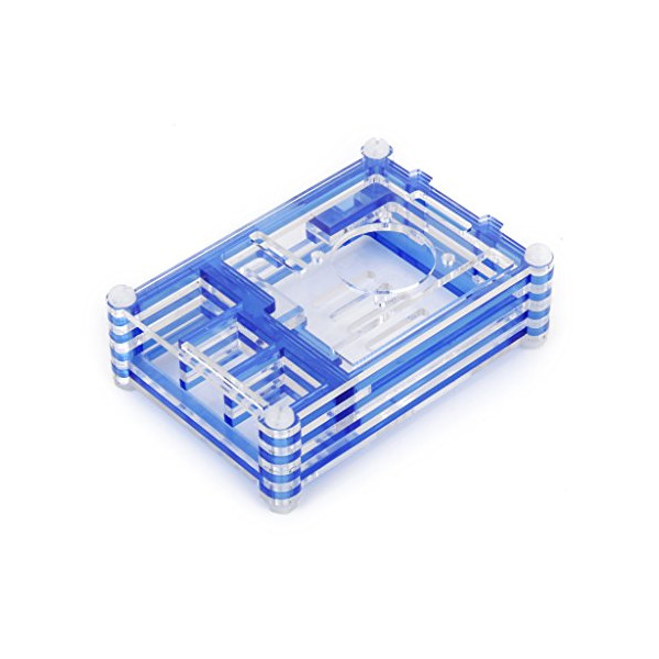 Blue Shell Case Box Enclosure for Pi B+/Pi 2