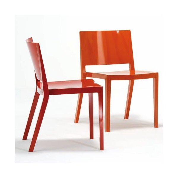 Kartell Lizz Chair, Set Of 2