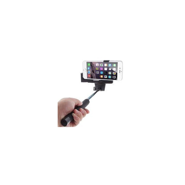 Cazbe Selfie Stick - Bluetooth - Apple iphone, Samsung, Android - Black