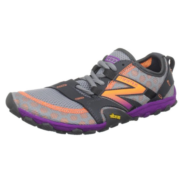 New Balance Women's Minimus WT10 Trail Running Shoe,Silver/Purple,12 B US
