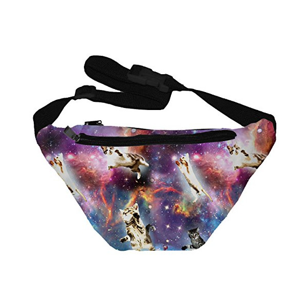 Funny Guy Mugs Space Cat 2 Fanny Pack