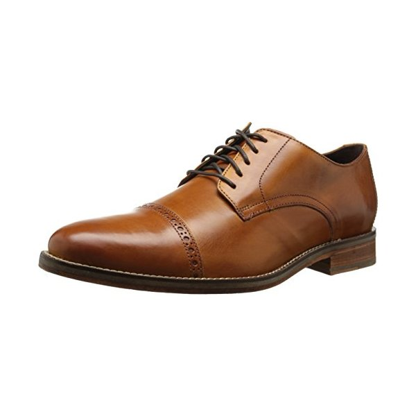 Cole Haan Men's Preston Cap Toe Oxford, British Tan, 12 M US