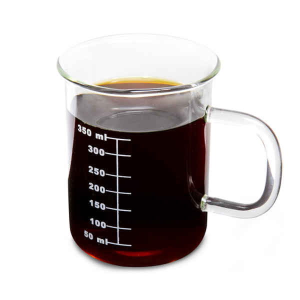 Laboratory Glass Beaker Mug