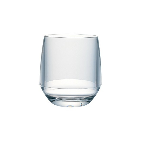 Snow Peak Silicone Stemless Wine Glass 14OZ Clear Silicone