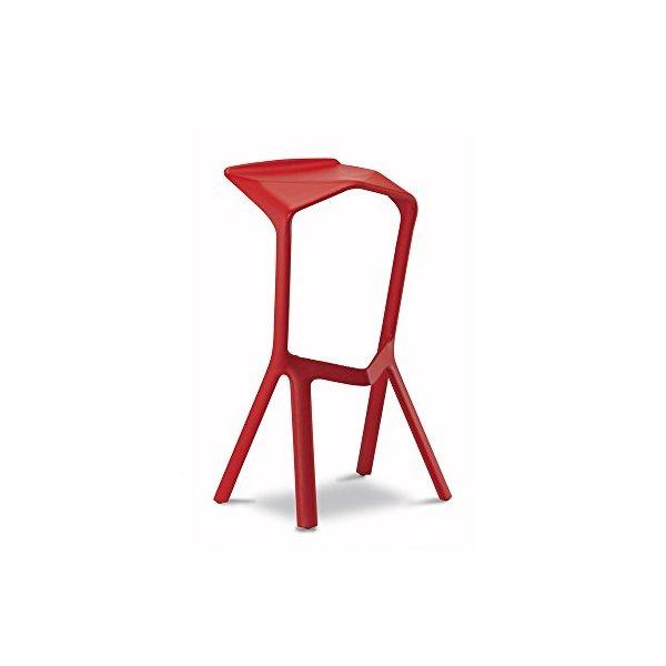 Miura Bar Stool - Red