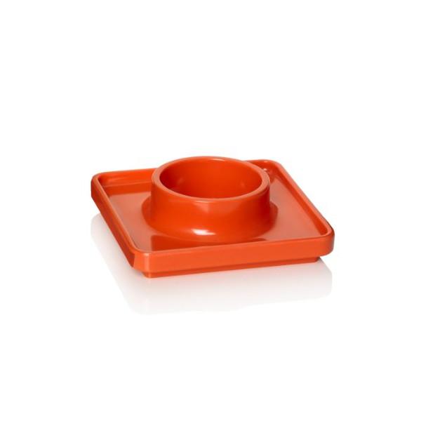 Pantone Universe Egg Cup, Tangerine Tango