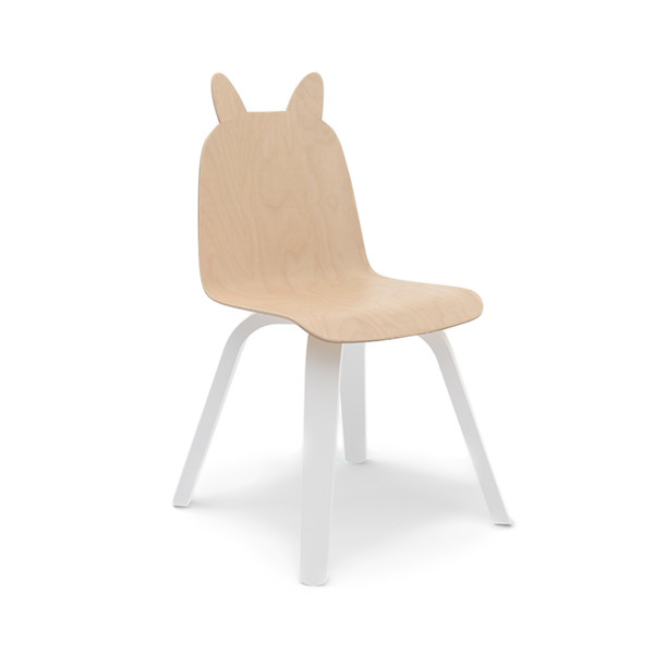 Oeuf Play Rabbit Chairs, Birch (Set of Two)